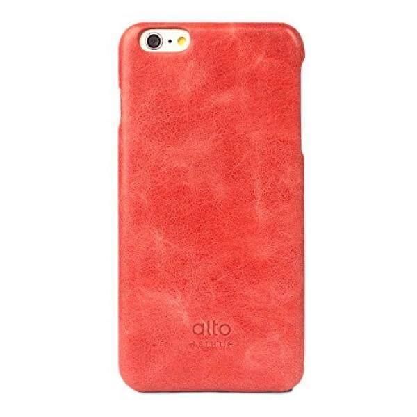 Alto Buatan Tangan Premium Kulit Italia Case untuk Apple iPhone 6 Plus & iPhone 6 S PLUS Asli (Merah) -Internasional