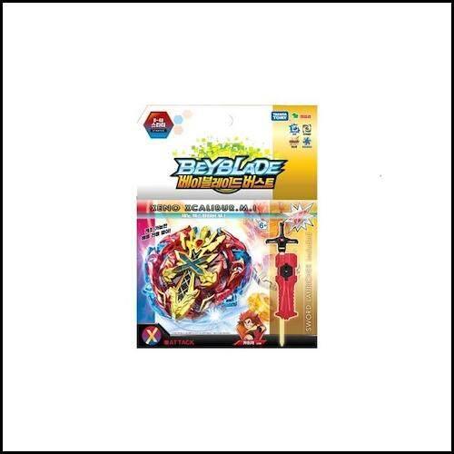 [Yeongsireop] [Takara Tomy] Beyblade/Pemotretan Bersambungan B-48 Starter Xeno Excalibur. m.i/Mainan Anak-anak/Terbaik/-Internasional
