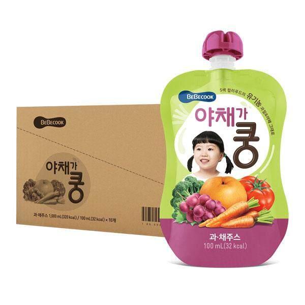 BeBecook - Value Box of 10 x Organic Fruit & Veg Juice
