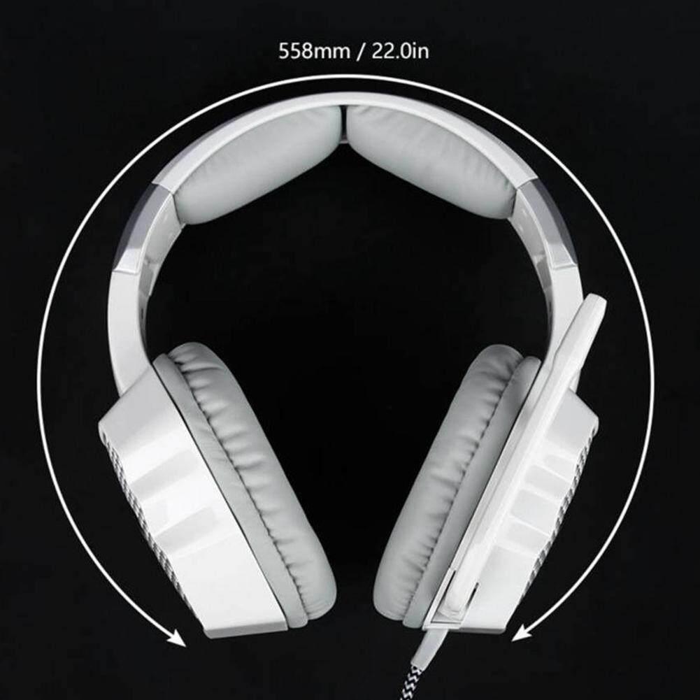 Fitur 7 1 Virtual Surround Sound Stereo Usb Gaming Headset Over Ear Sades Sa 968 Luna