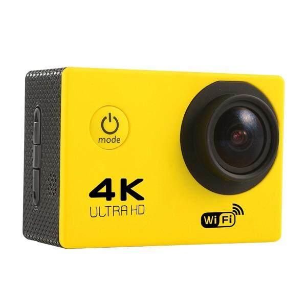 Soocoo F60 Olahraga Kamera Aksi 4 K WIFI Allwinner V3 Chipset OV4689 16.0MP Sensor Gambar HD untuk Kegiatan Luar Ruangan Kuning -Internasional