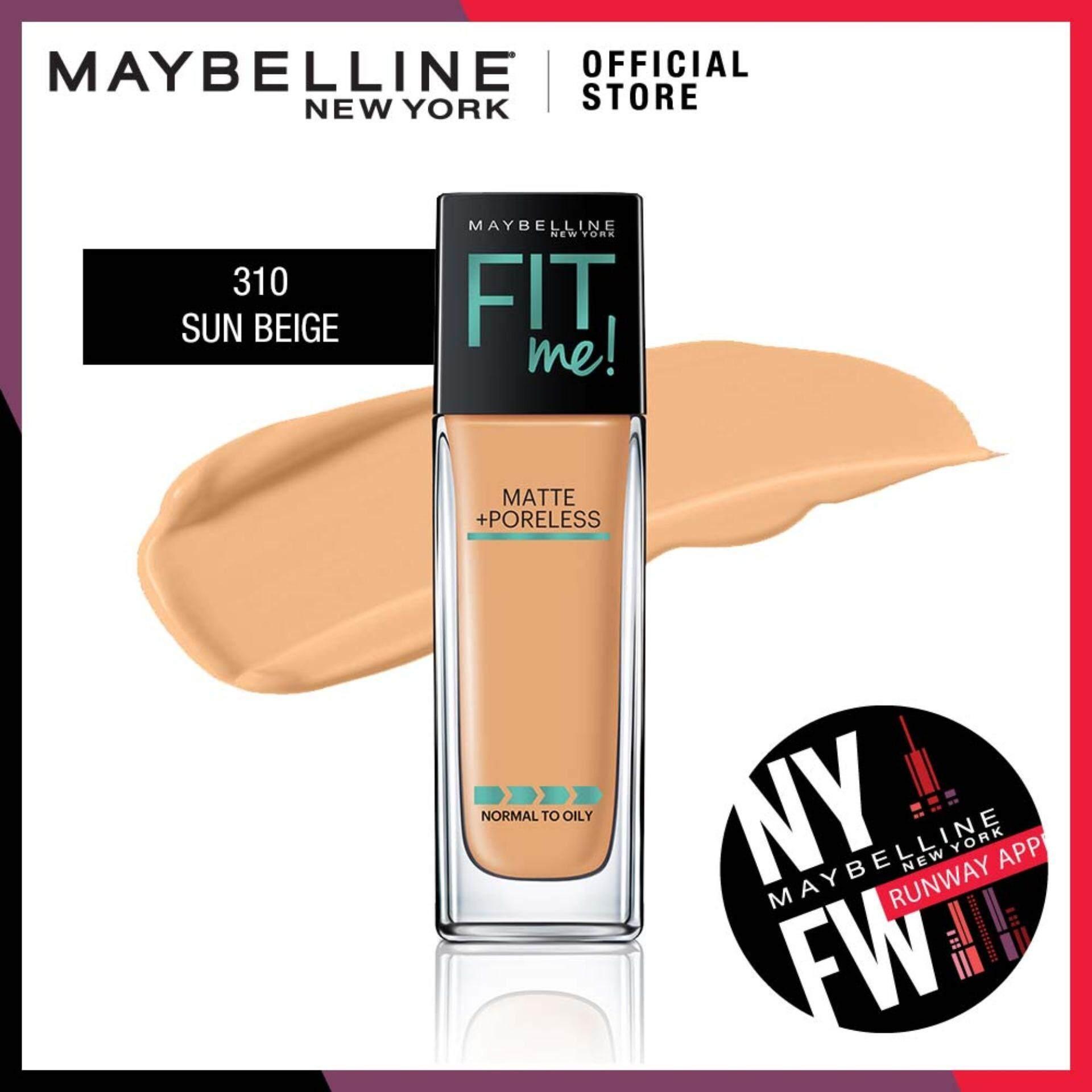 Fitur Maybelline Fit Me Matte Poreless Liquid Foundation 228 Soft 30ml