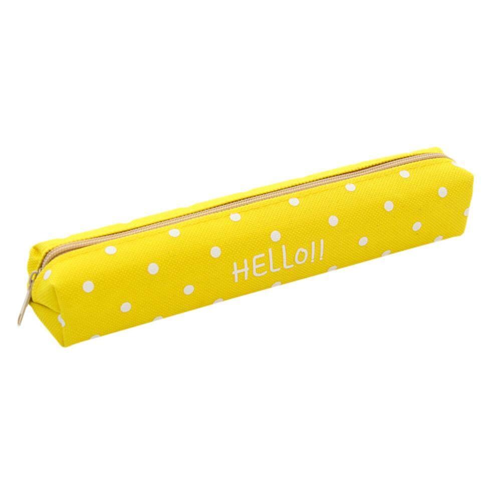 Buy Sell Cheapest Kleinsho Fashion Canvas Best Quality Product Tempat Pensil Bahan Kanvas Siswa Pena Kotak Tas Kosmetik Rias Dompet Kantong Koin Populer Baru