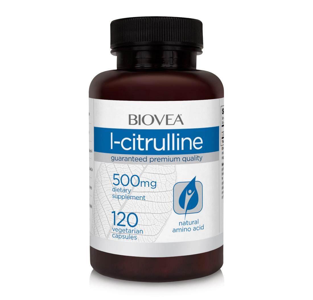 L-CITRULLINE 500mg 120 Vegetarian Capsules