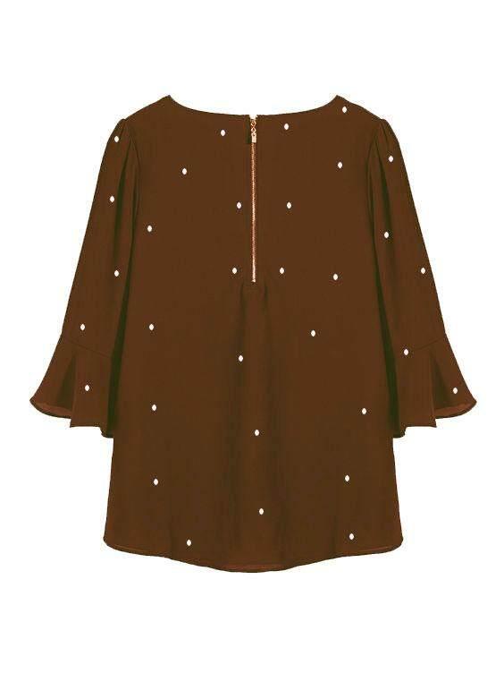 Era Maira Wide kimono  sleeve blousen for muslimah - Widz Starletz