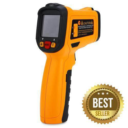 PM6530D LCD DISPLAY INFRARED THERMOMETER TEMPERATURE SENSOR