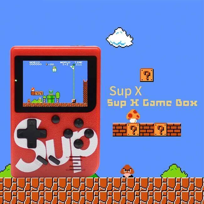 Original Brand Retro Mini Gameboy Game Console Emulator Built-In SUP 400 Games sub games black
