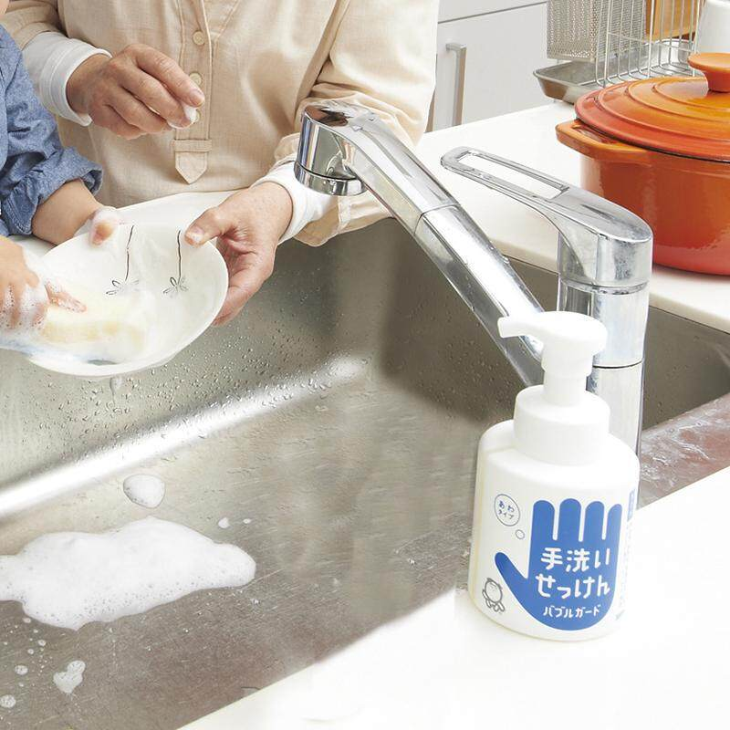 Shabondama Hand Wash Soap BubbleGuard - Safer for more than 20 times a day -  (300ml) 日本泡泡玉シャボン玉 健康洁手慕斯泡沫洗手液 (300毫升)