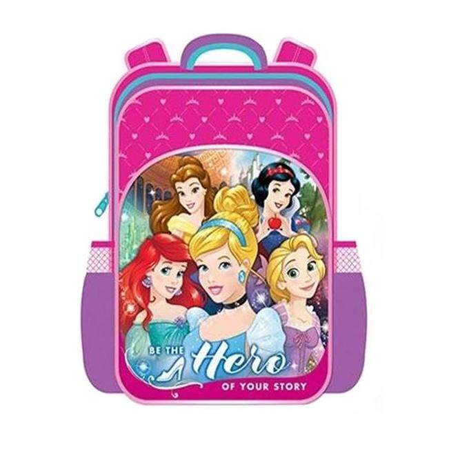 Disney Princess Primary School Bag Backpack - Pink Colour