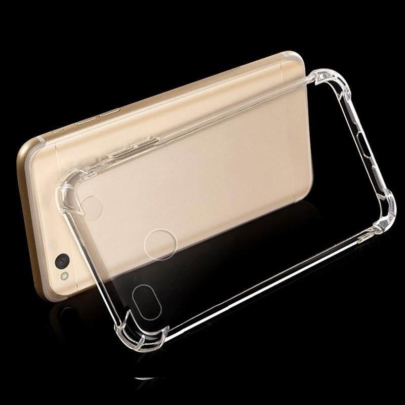 Yupt Baru Kualitas Bagus untuk Xiaomi Redmi 4X Anti-Knock Jelas Lembut TPU Kembali Cangkang Pelindung Armor-Intl