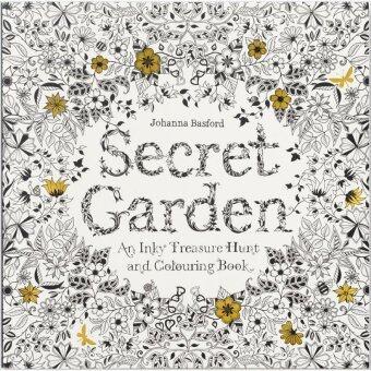 Secret Garden Coloring Book Chronicle Books