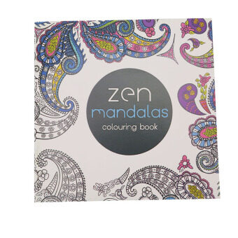 Hanyu Secret Garden Zen Mandala Coloring Book For Children Adult Relieve Stress Kill Time Graffiti Painting Drawing 12 Sheets Of Paper Not Cover