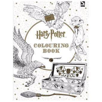 Harry Potter Colouring Book Coloring Books 1 By Scholastic Inc Warner Brothers