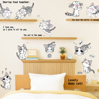 Personality Wall Stick Room Sitting Room Adornment Bedroom Warmth Big Idea Stickers  Wall Paintings On The Wall Stickers Bedroom Metope Part 63