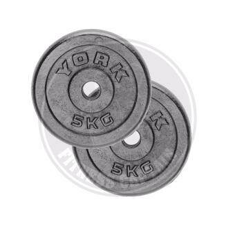 york weight plates. fitness captain york iron weight plate 5kg set of 2 ( x ) plates