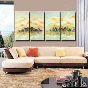 Hand Made Oil Painting On Canvas Abstract Modern Wall Art Decor In Bedroom  And Living Room/No Frame Part 65