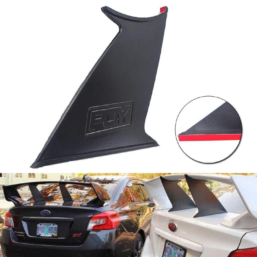 Automotive Tools & Equipment - Trunk Spoiler Wing Stiffi Support Stabilizer For Subaru STi Sedan 2015- Car Replacement Parts
