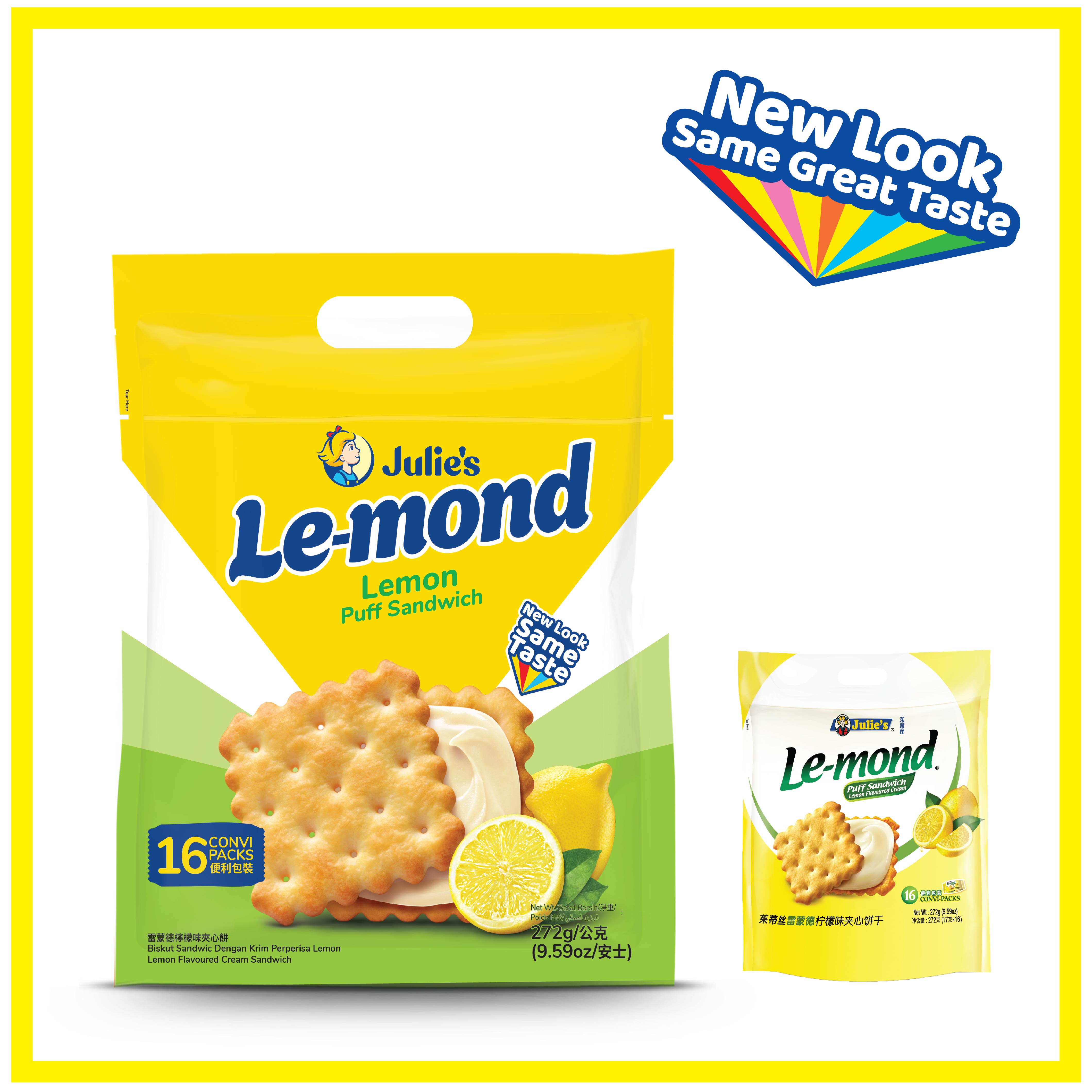 Julies Le-Mond Lemon Cream 272g x 1 pack