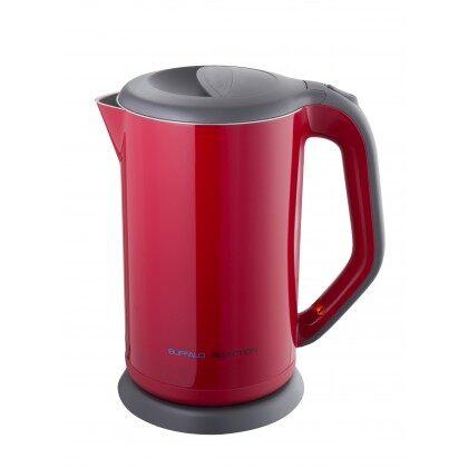 牛头牌 Buffalo 1.7L Stainless Steel Iner Electric Kettle Red KW75