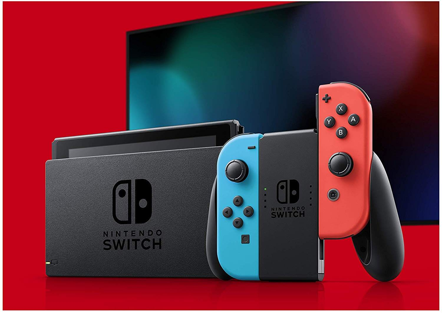 NINTENDO SWITCH CONSOLE ENHANCED BATTERY VERSION ( NEON BLUE / NEON RED )