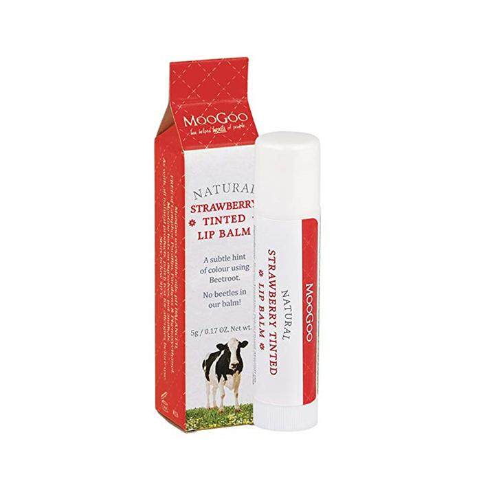 MOOGOO STRAWBERRY LIP BALM 5G