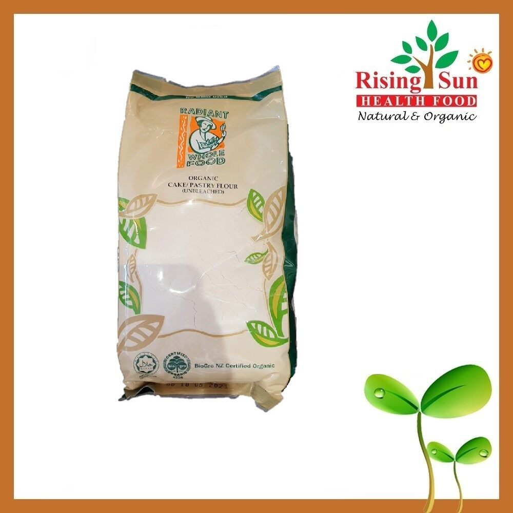 Radiant Unbleached Organic Cake Or Pastry Flour