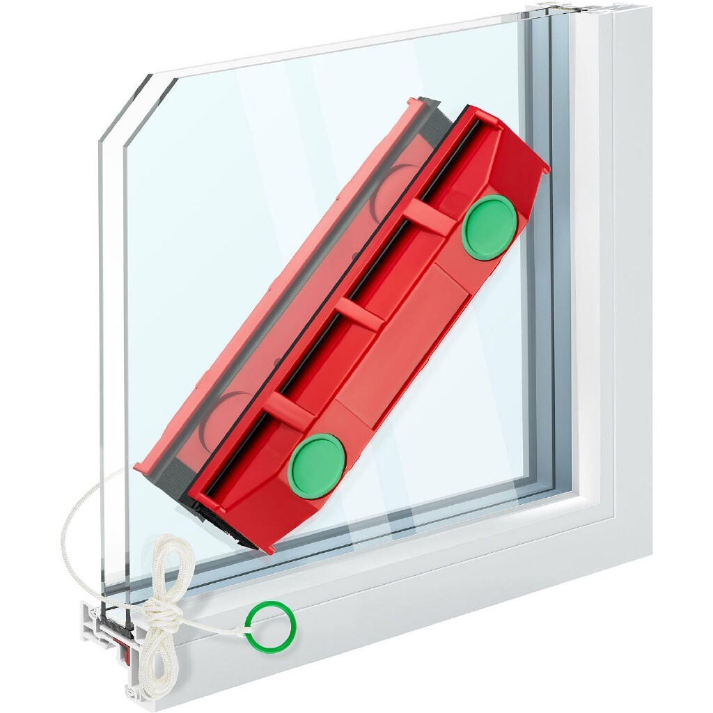 Magnetic Window Cleaner For Hard To Reach Outer Window Side Glider D3 0.8-1.1 - D3 / S1 / D2