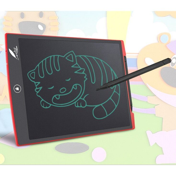 Gadgets - 12 Inch LCD Writing Tablet Digital Drawing Tablet Handwriting Pad Board w/ Pen - BLUE / RED / WHITE / BLACK