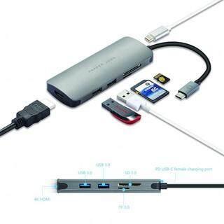 Pepper Jobs TCH-4 USB-C Digital AV Multiport Adapter