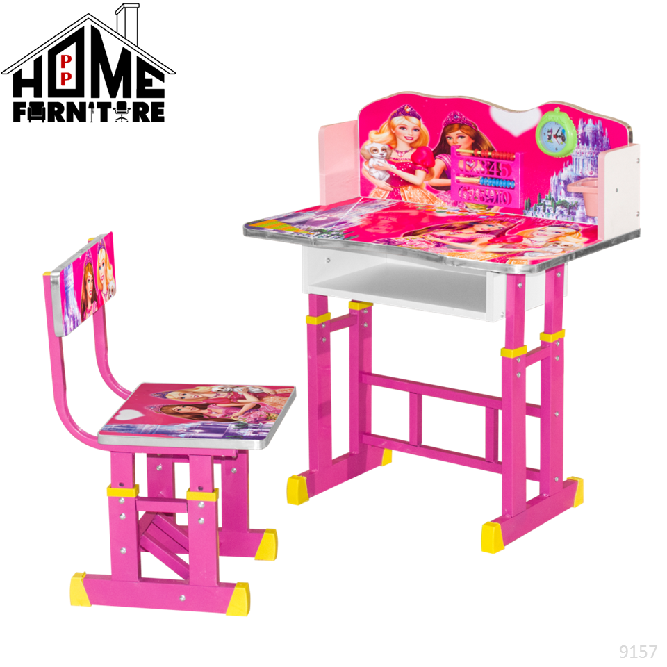 PP HOME Multipurpose Kids learning table/Study table/ABC table/ Children writing drawing table/Kids furniture/Kids toys/ Meja budak belajar/Meja tulis kanak kanak/ Mainan baby/儿童学习桌/小孩桌子9158