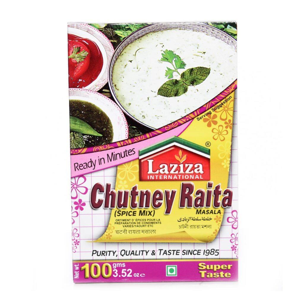 LAZIZA CHUTNEY RAITA MASALA MIX- 100 GM
