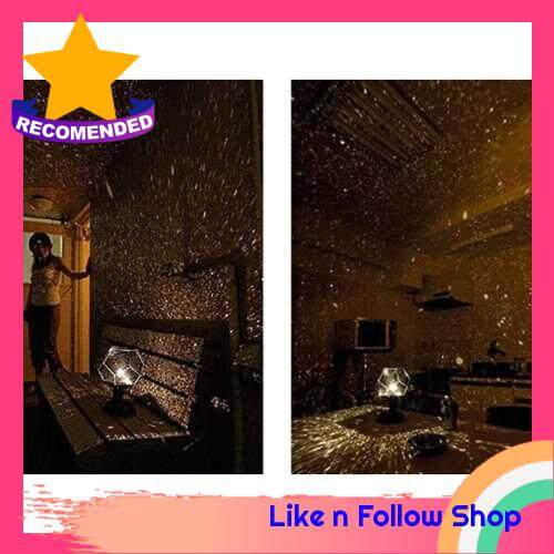 LED Star Projection Lamps Universe Firmament Night Light Projector of Three Colors Shadow of Constellation Stars (Standard)