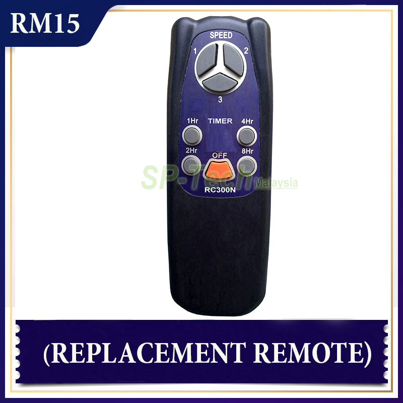 EUROUNO RC300N FAN REMOTE CONTROL (REPLACEMENT)