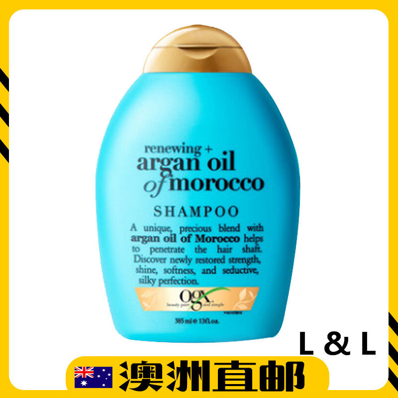 [Pre Order] Australia Import OGX Renewing Moroccan Argan Oil Hair Shampoo 385mL (Australia Product)