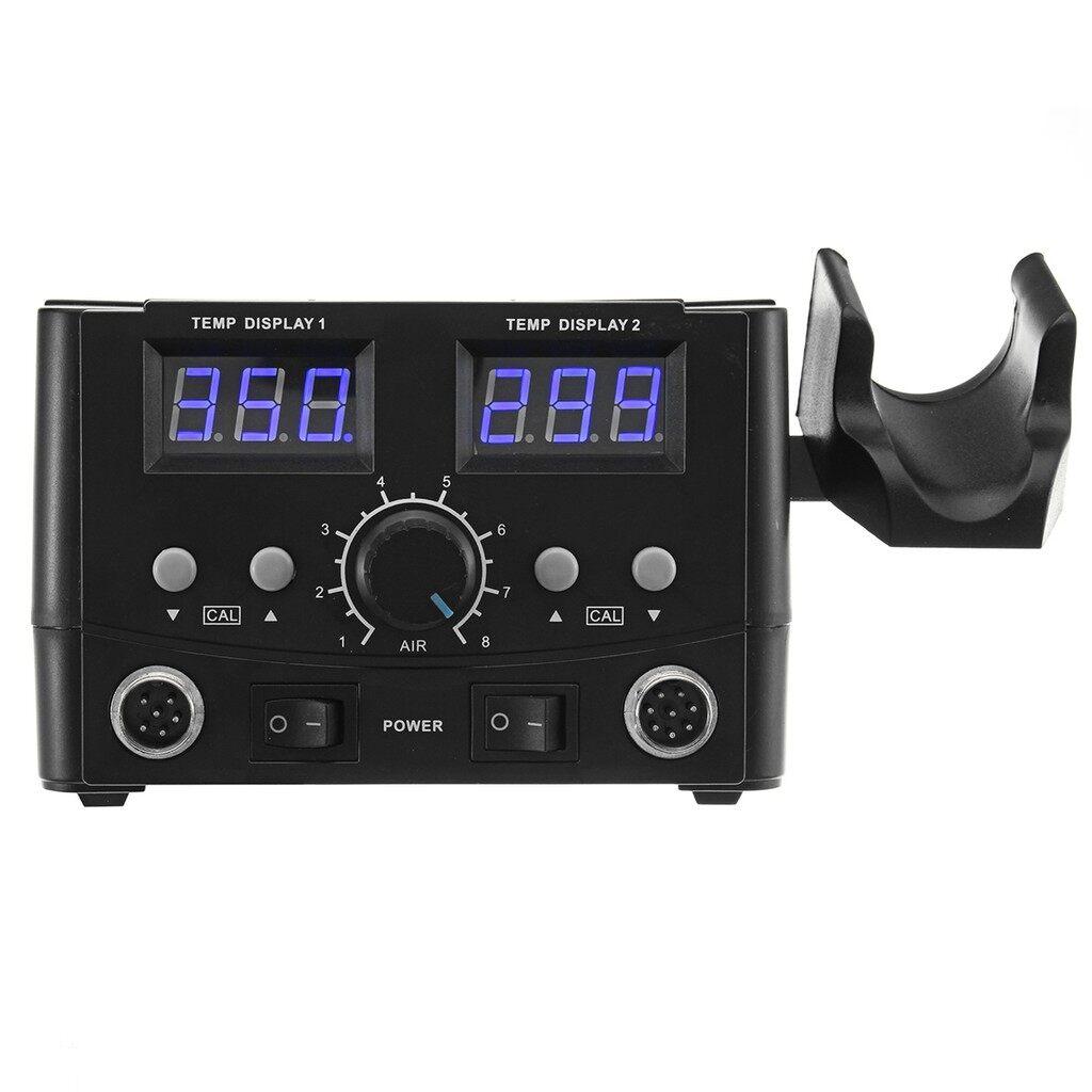 Gadgets - 750W Soldering IronAir Station Digital SMD Solder Rework Gun Heater - Cool