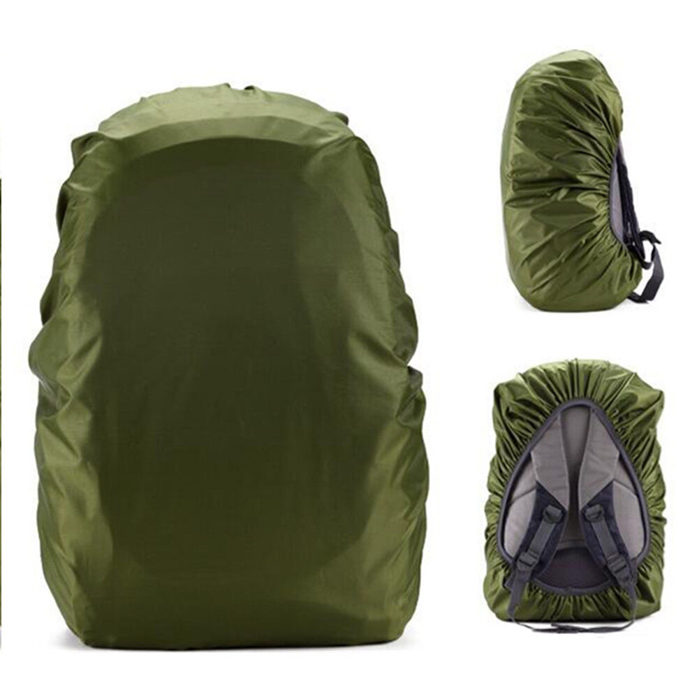 35L, 45L Adjustable Waterproof Dustproof Backpack Rain Cover Portable Ultralight Shoulder Bag Case Raincover Protect for Outdoor Camping Hiking
