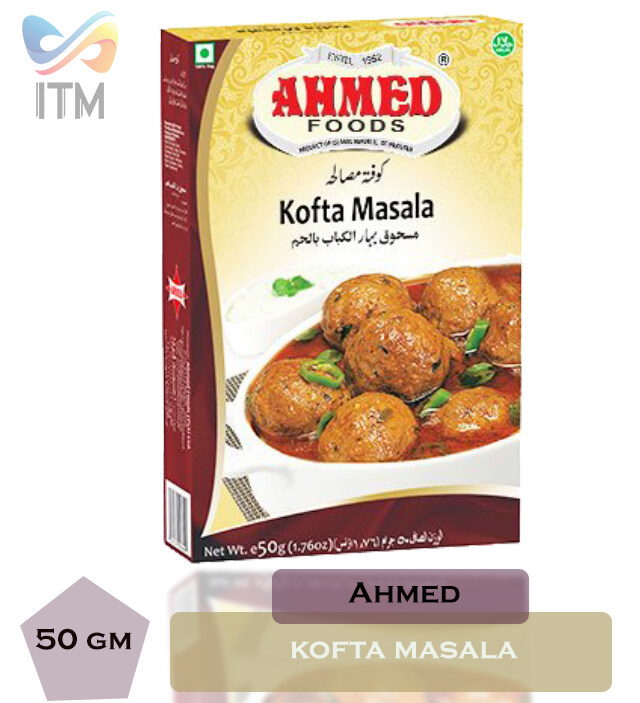 AHMED KOFTA MASALA  SINGLE PACK 50GM