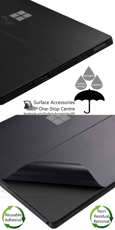 [MALAYSIA]New Microsoft Surface Pro Case Skin Case Cover Stand Protection New Microsoft Surface Pro 5 Wrap New Microsoft Surface Pro 5 Skin New Microsoft Surface Pro 5 Vinyl Wrap Surface Pro 5 Decal