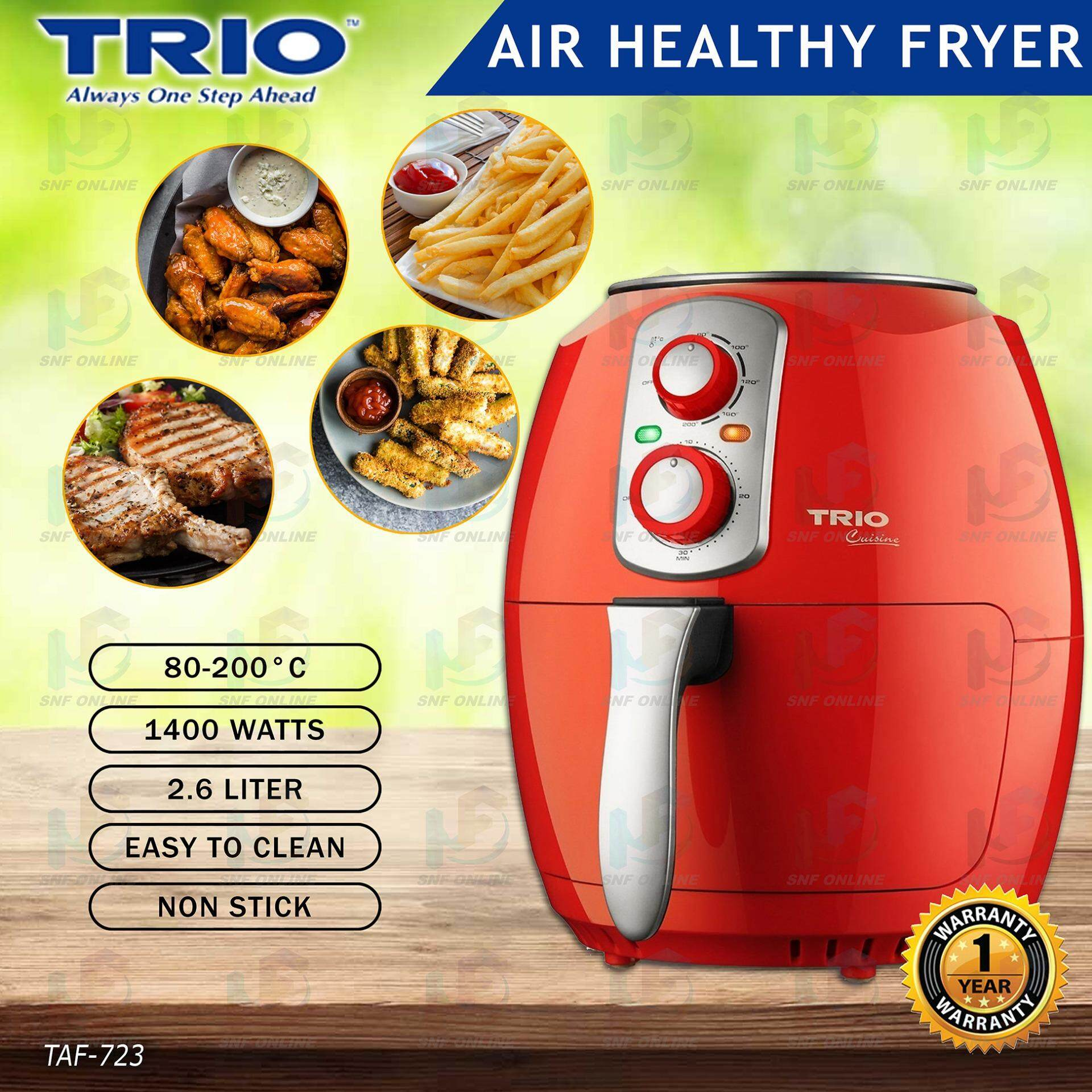 Trio Air Fryer 2.6L TAF-723 (New Exclusive May 2019)