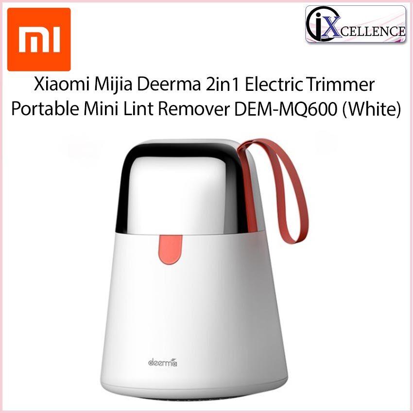 [IX] Xiaomi Mijia Deerma 2in1 Electric Trimmer Portable Mini Lint Remover DEM-MQ600 (White)