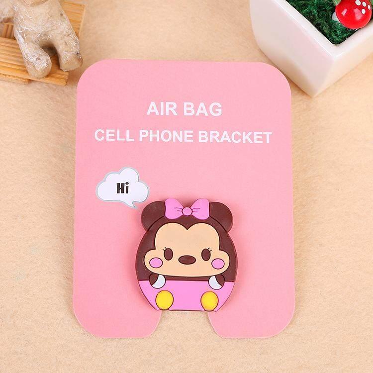 Cute Minnie Cartoon Pattern Airbag Cellphone Bracket Phone Stand Holder