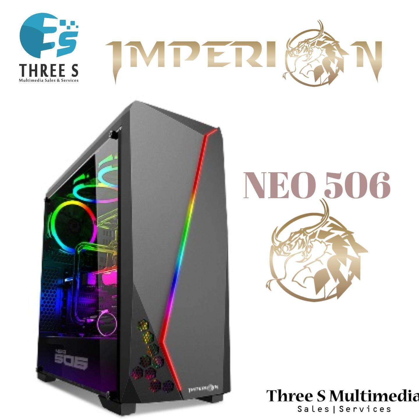 Imperion Neo 506 Gaming Computer Case RGB Light