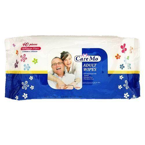 Care Mo Cleaning and Skin Care Adult Wipes