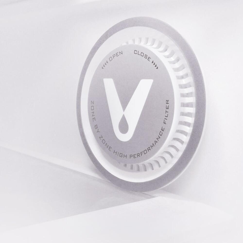 VIOMI Refrigerator Air Clean Facility Filter ilive2 Air Purifier 99.9% Sterilization Odor Elimination Air Cleaner (VF-1CB)/(VF-2CB)