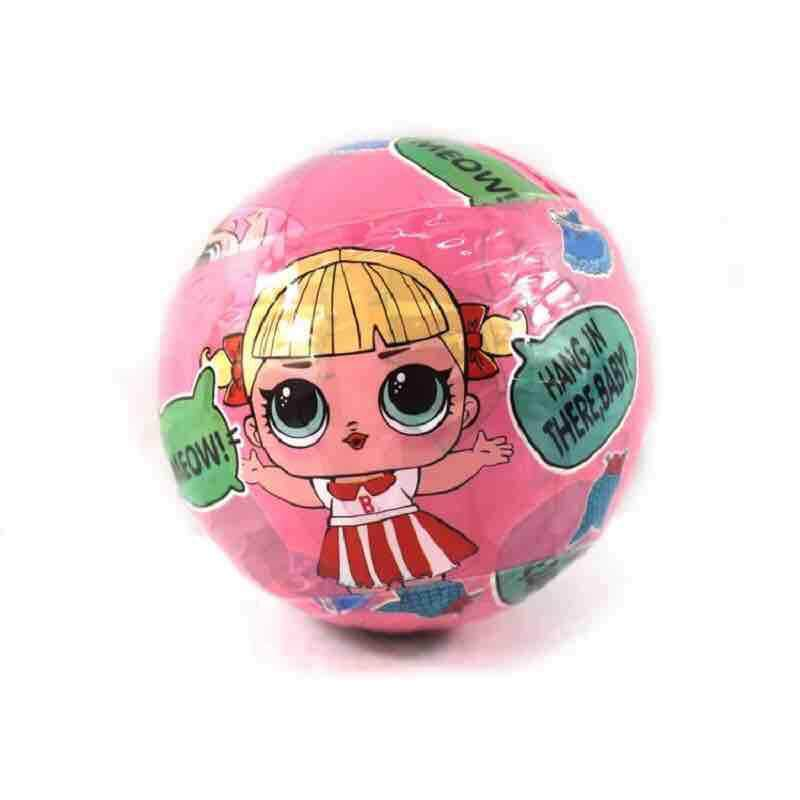 Random Surprise LOL Dolls Color Change Egg Confetti Pop Series Dress LOLS Doll Ball Action Figure Kids Toys For Children Christmas