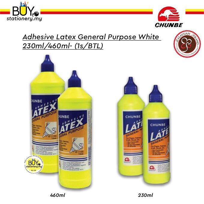 Adhesive Latex General Purpose White 230ml/460ml - (1s/BTL)