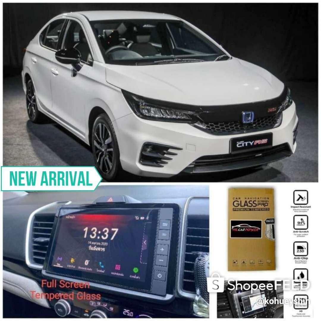 Honda City 2020 Head Unit Navigation Screen Protector Tempered Glass