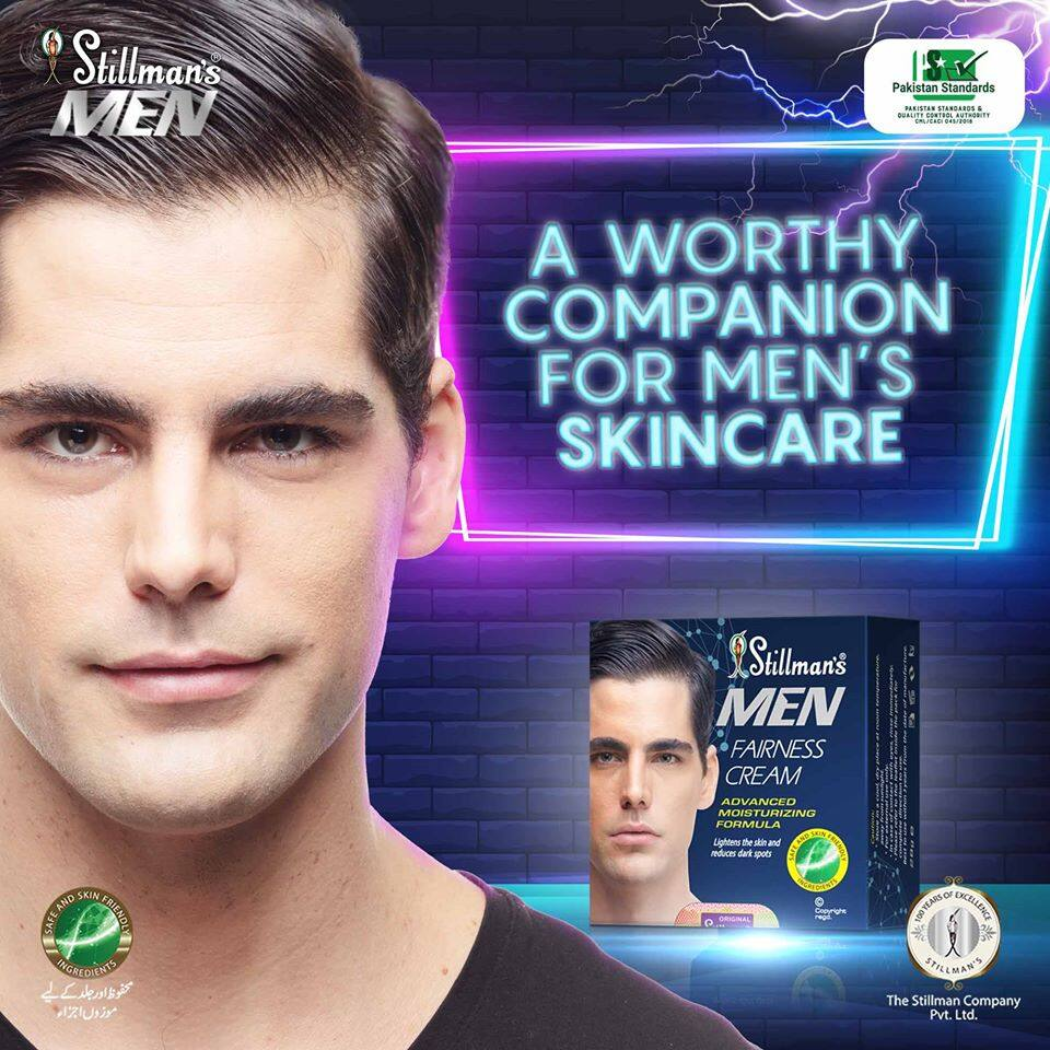 Stillman's Men Fairness Cream 28GM (Premium Quality) Special Price