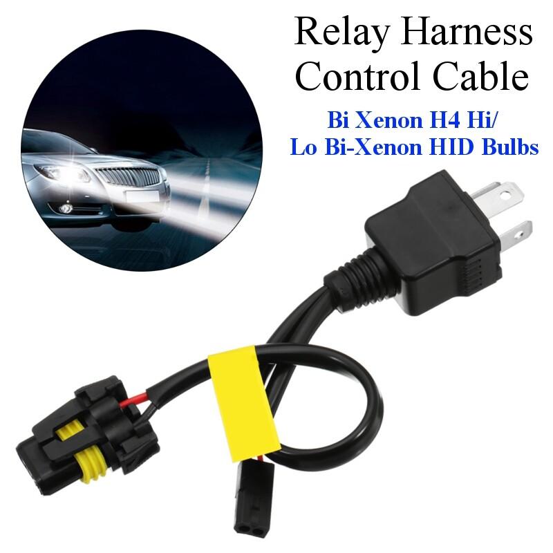 Car Lights - 1 PIECE(s) Car Decoder H4 Hi/Lo Bi-Xenon for HID Bulbs Decoder - Replacement Parts