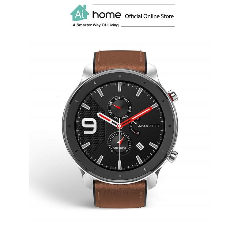 HUAMI AMAZFIT GTR 47mm-A1902 (Aluminium Alloy) [ Smart Watch ] with 1 Year Malaysia Warranty [ Ai Home ] HASS
